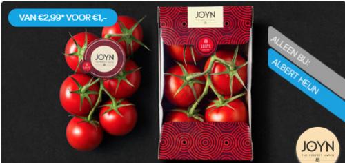 Probeer JOYN® trostomaat voor €1,- bij Albert Heijn via Scoupy