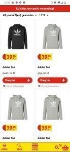 52d5946808e Sportieve rugtas van Adidas te koop bij Kruidvat. Daarnaast heeft het  Kruidvat meer Adidas te koop: sportbroeken, sweaters, douchespul en parfum  ...
