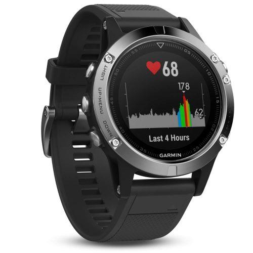 Garmin Fenix 5 Multisport GPS Horloge Only – Zwart Sapphire voor €329