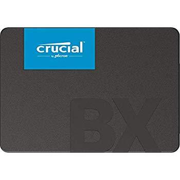 "Crucial BX500 SSD 120GB 2.5"" SATA III voor €18,99"