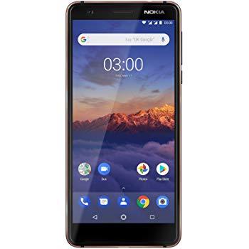 Nokia 3.1 Dual Sim 16GB Black voor €99,95
