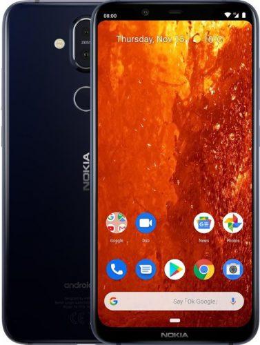 Nokia 8.1 – 64GB – Blauw voor €310,25