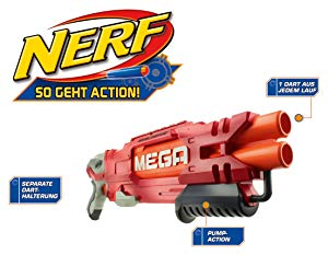 Nerf Mega DoubleBreach voor €15,77 (Prime)