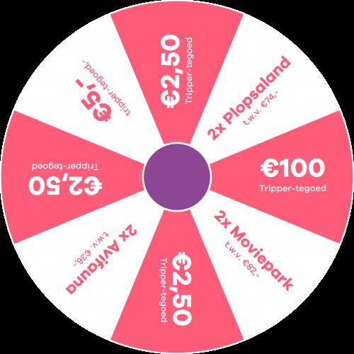 €5,- korting bij Tripper