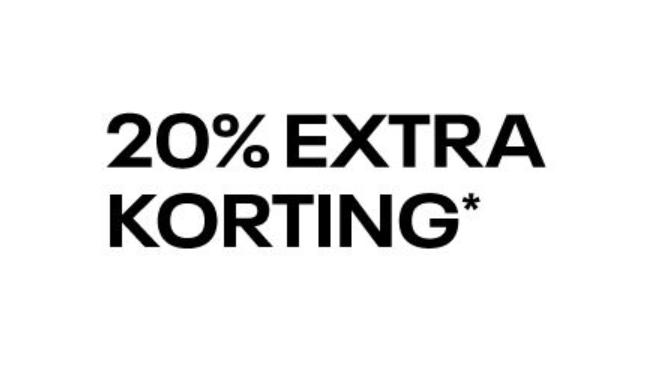 20% Extra Korting op de sale van Reebok (Tot 50% Korting)