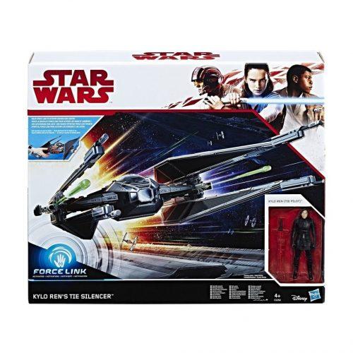 Star Wars Force Link Kylo Ren's TIE Silencer & Kylo Ren (TIE Pilot) Figuren voor €9,99