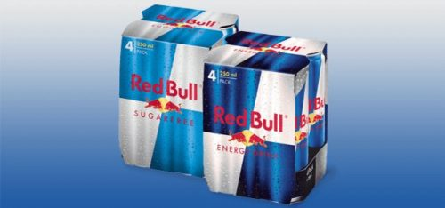 Probeer Red Bull 4-pack voor €3,40 door cashback