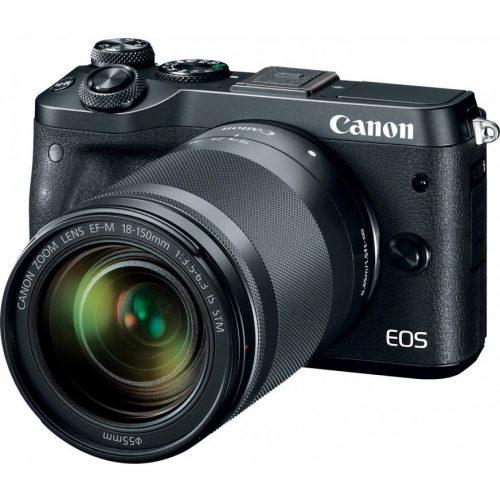Canon EOS M6 met EF-M 18-150mm – Zwart voor €599 + €70 cashback