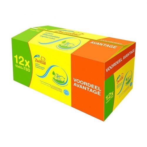 1+1 Gratis op Zwitsal billendoekjes – 24 pakken voor €33,48
