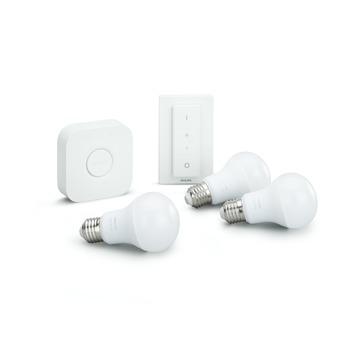 Philips Hue White – Starterkit – E27 voor €73,95