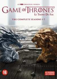 Game Of Thrones DVD/Blu-Ray Box Seizoen 1 t/m 7 voor €54,99