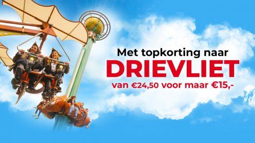 Tickets voor Drievliet met korting voor €15,70 via SBS6