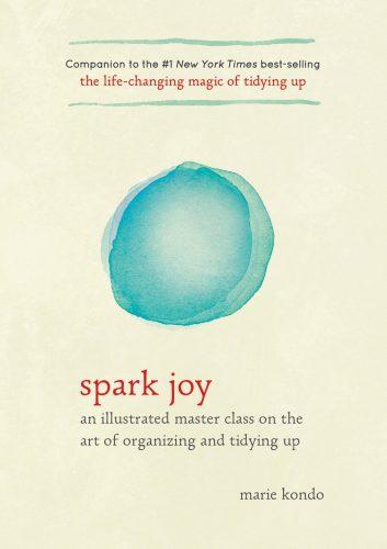 Win het boek Spark Joy van Marie Kondo