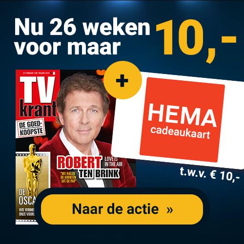 Gratis HEMA Cadeaukaart t.w.v. €10