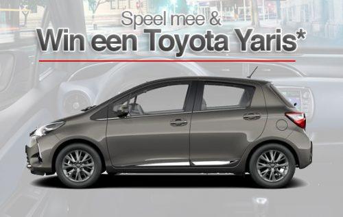 Win een Toyota Yaris