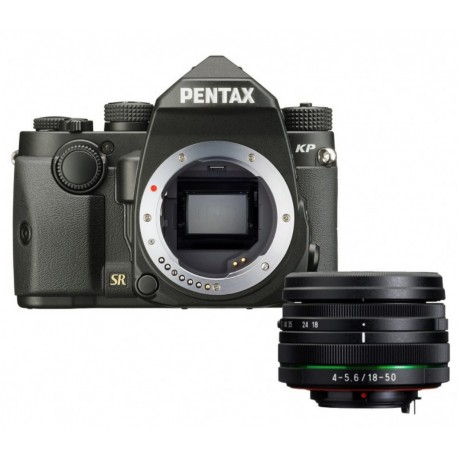 Pentax KP Body Zwart + 18-135MM voor €789