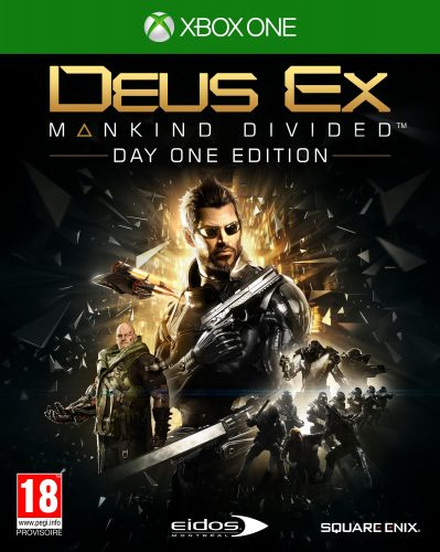 Square Enix Deus Ex: Mankind Divided Day One Edition voor €3