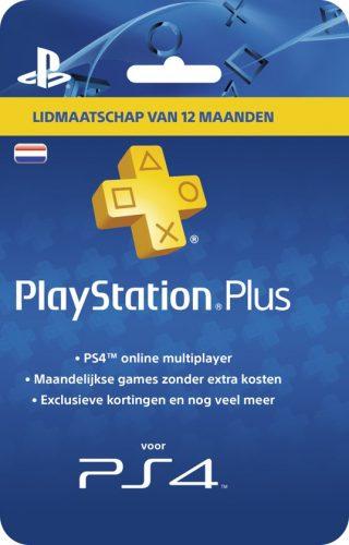 12 maanden Playstation Plus voor maar €41,99 bij Nedgame