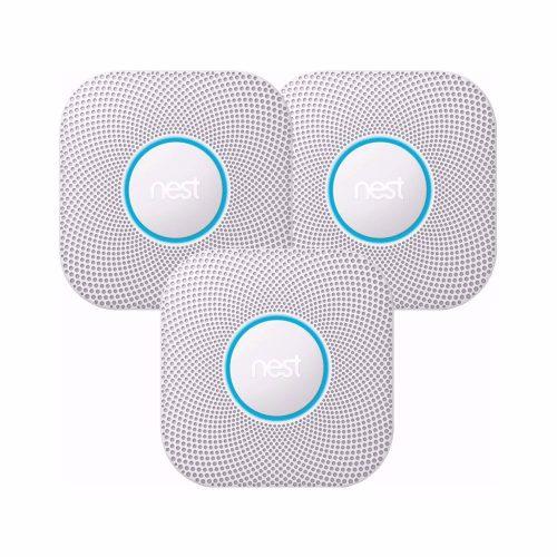 Google Nest Protect Battery Rook- & Koolstofmonoxidemelder V2 – 3 st. voor €279,20