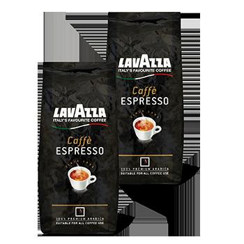 1+1 Gratis op alle Lavazza espressobonen bij Dirk