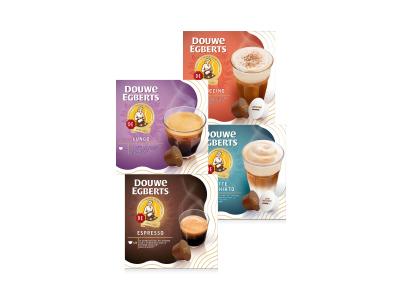2+2 Gratis op Douwe Egberts koffiecapsules