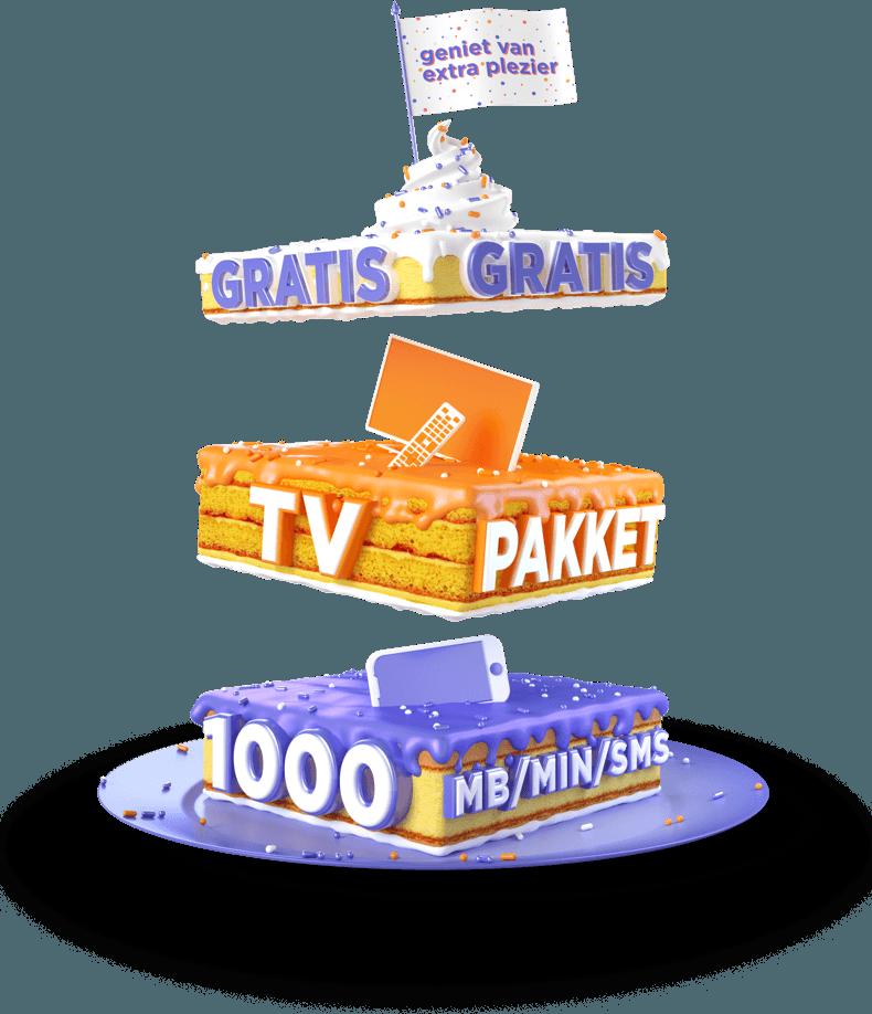 Hollandsnieuwe met Ziggo: Extra zenderpakket + 1000 MB/min gratis