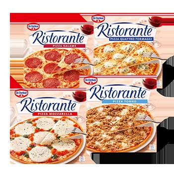 4 voor €6 Diverse Dr. Oetker Ristorante pizzas