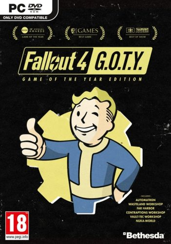 Fallout 4 – Game of the Year Editie voor €7,69