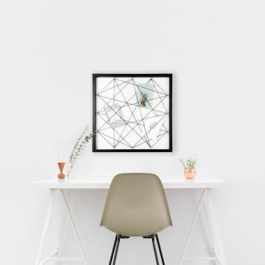 Dresz wandframe met elastiek – 50 x 50 cm vanaf €3,52