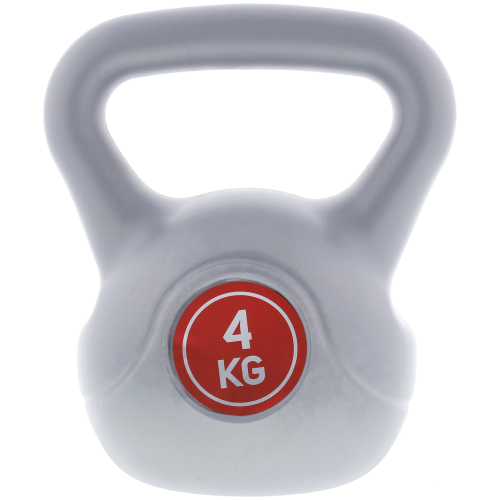 Q4LIFE – Kettlebell – 4 kg – kunststof voor €3,99