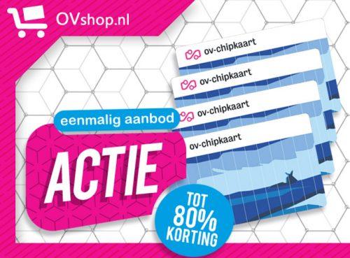 Gratis OV-chipkaart (excl. €2,95 verzendkosten)