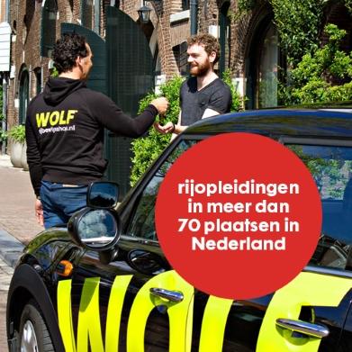 Haal nu extra voordelig je rijbewijs bij WOLF rijbewijsshop vanaf €49