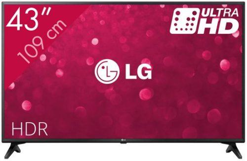 LG Ultra-HD Smart TV 43UM71 voor €299,99