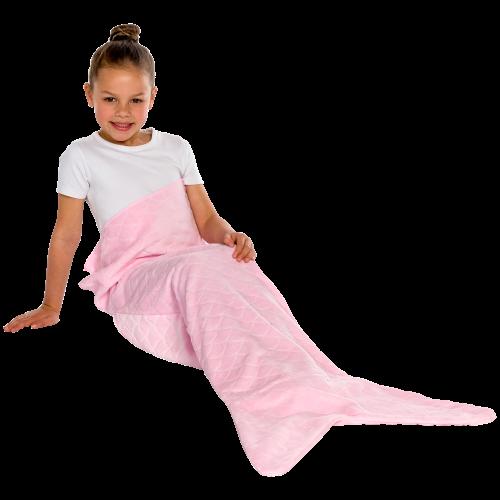 Fleece deken Zeemeermin-, unicorn- of krokodillendeken voor €4,98