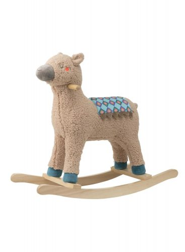 Alpaca Hobbelpaard met velours zadelkleed voor €20