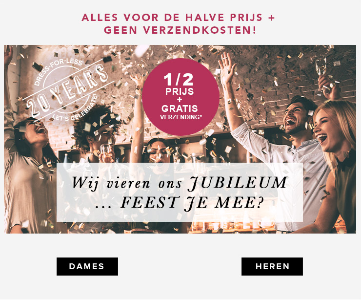 50% Korting op alles bij Dress For Less