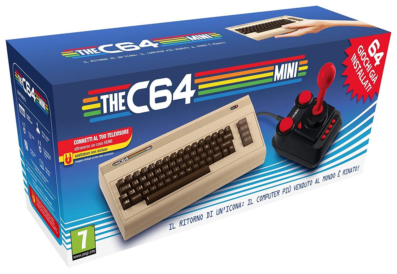 Retro console Retro Games The C64 mini + games voor €34,99