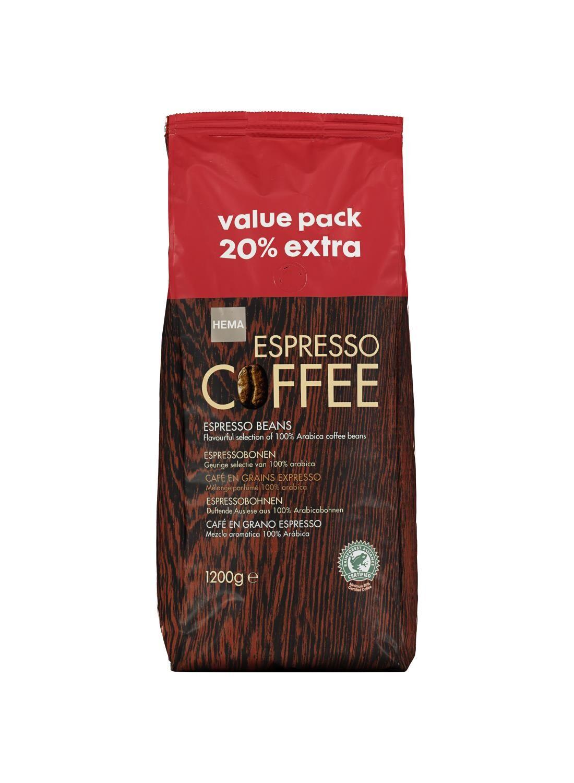 koffiebonen espresso – 1.2 kg voor €7,50