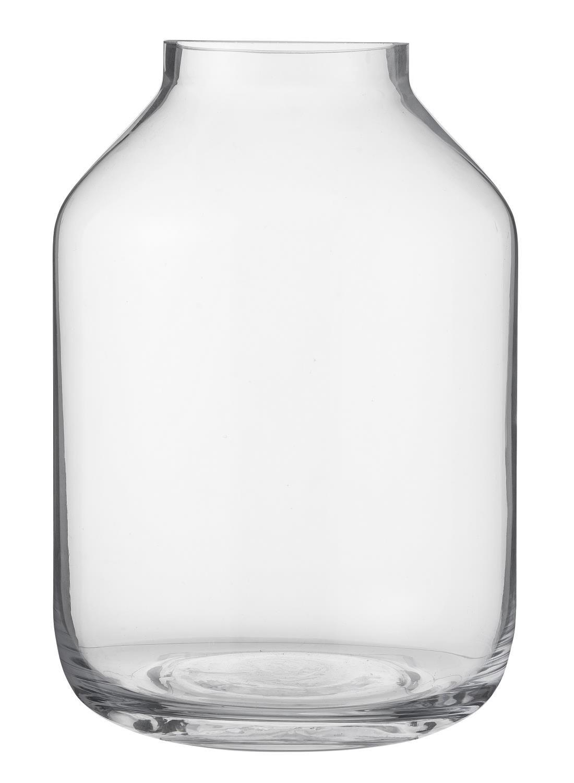Vaas – 22.5 x Ø 14 cm – transparant glas voor €4,- met klantenpas