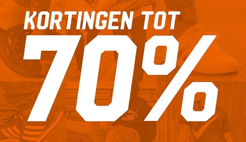 Aktiesport mid season sale tot 70% korting
