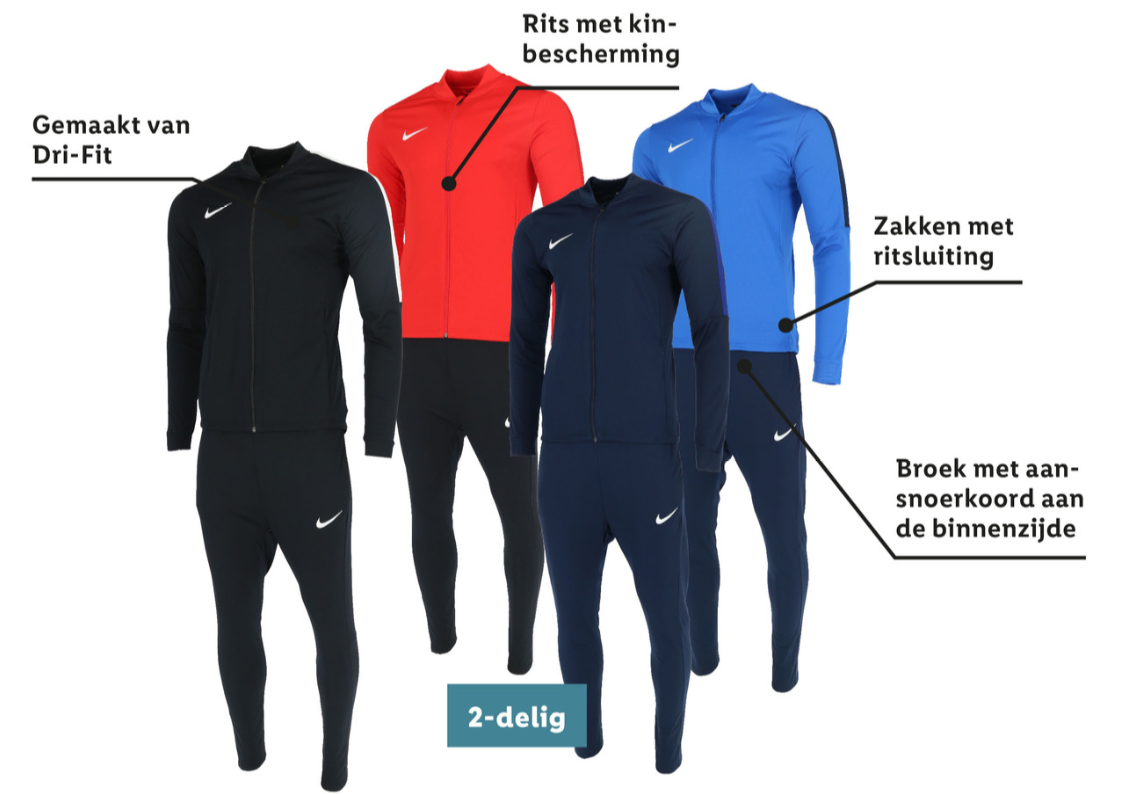 Nike Dri-Fit trainingspak €39,99