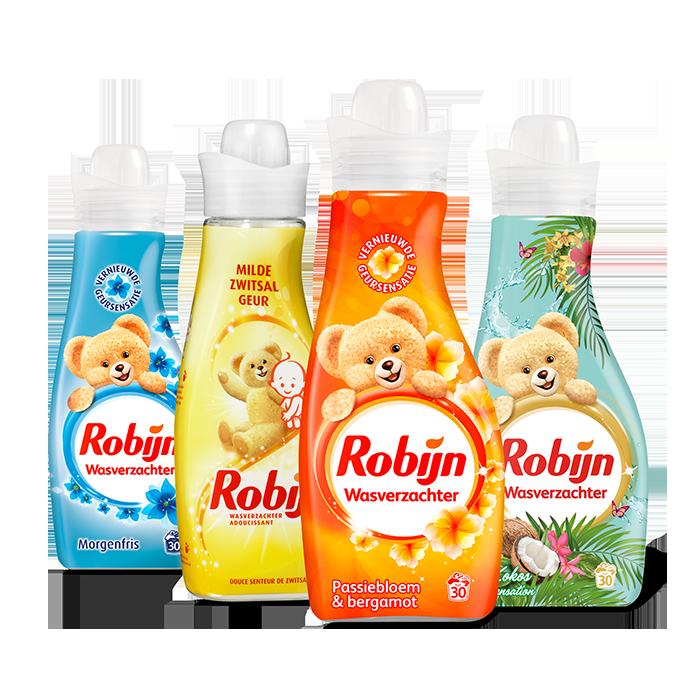 Robijn wasverzachter 4 voor €5