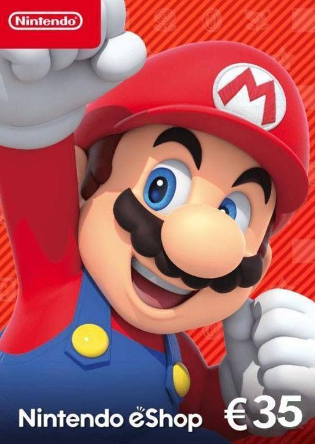 Nintendo eShop Card van €35 voor €29,99