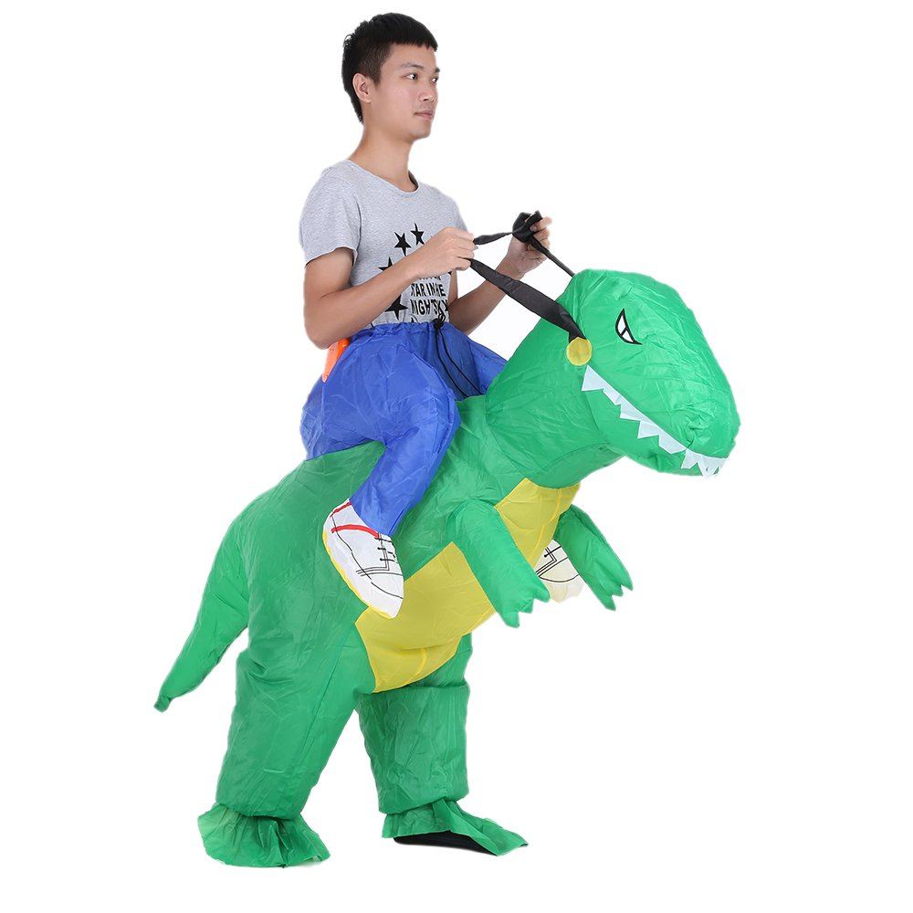 Opblaasbaar Dinosaurus pak voor €16,84