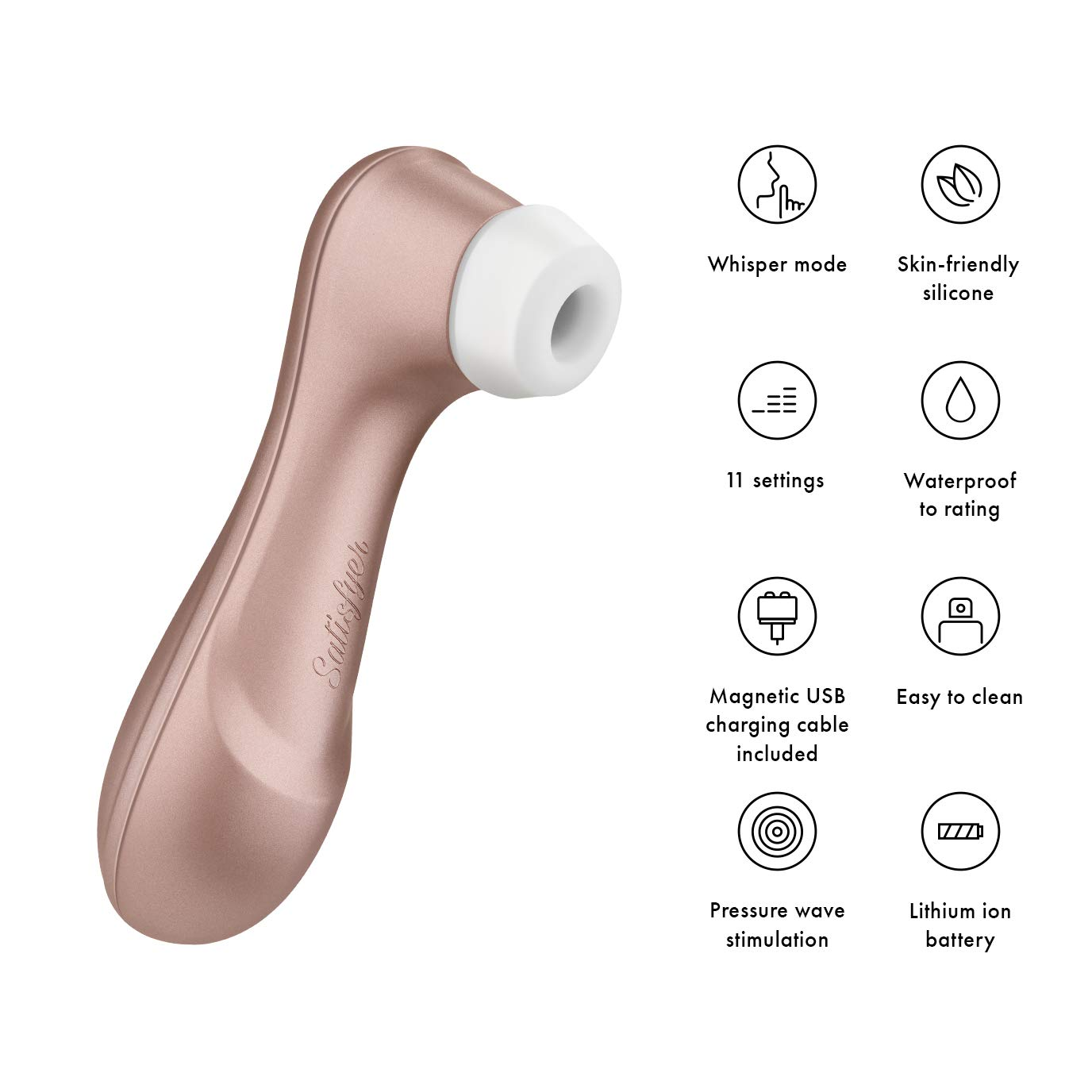 Satisfyer Pro 2 Next Generation – Roze voor €21,70