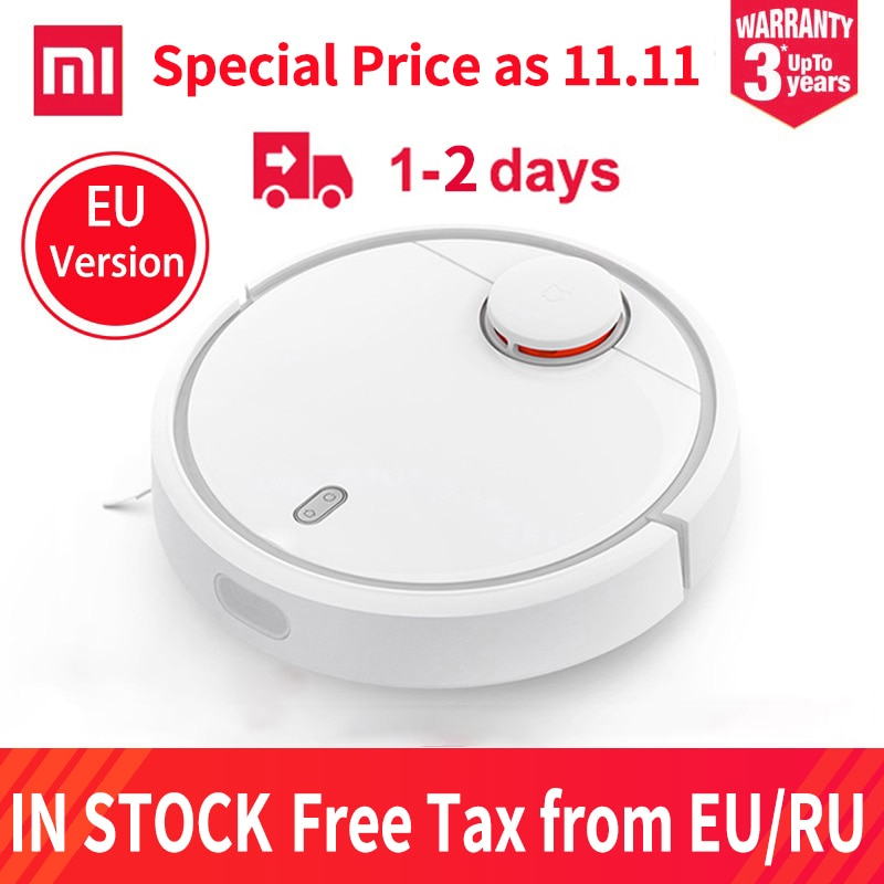 Xiaomi MIJIA robot stofzuiger – EU Versie voor €199,56