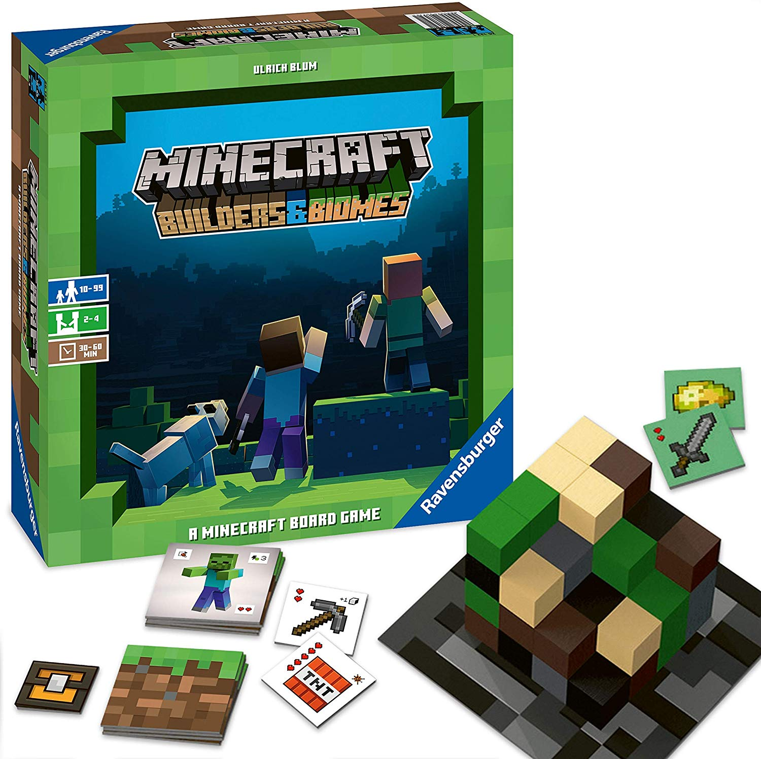 Minecraft Builders & Biomes – Bordspel voor €29,59