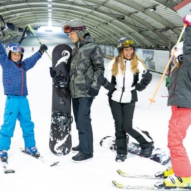 1+1 Gratis op tickets SnowWorld via HEMA