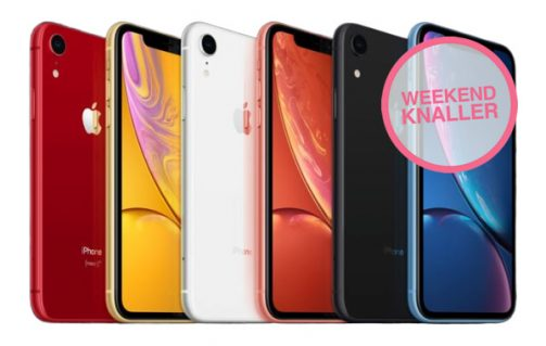 Apple iPhone XR 128GB in diverse kleuren voor €649