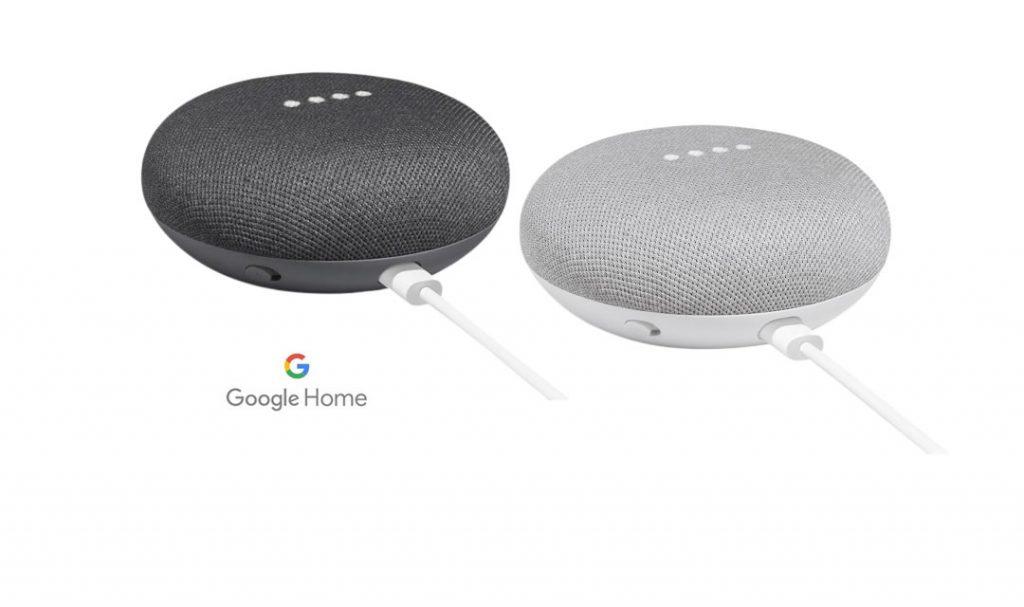 Google Home Mini – Smart Speaker voor €37,95